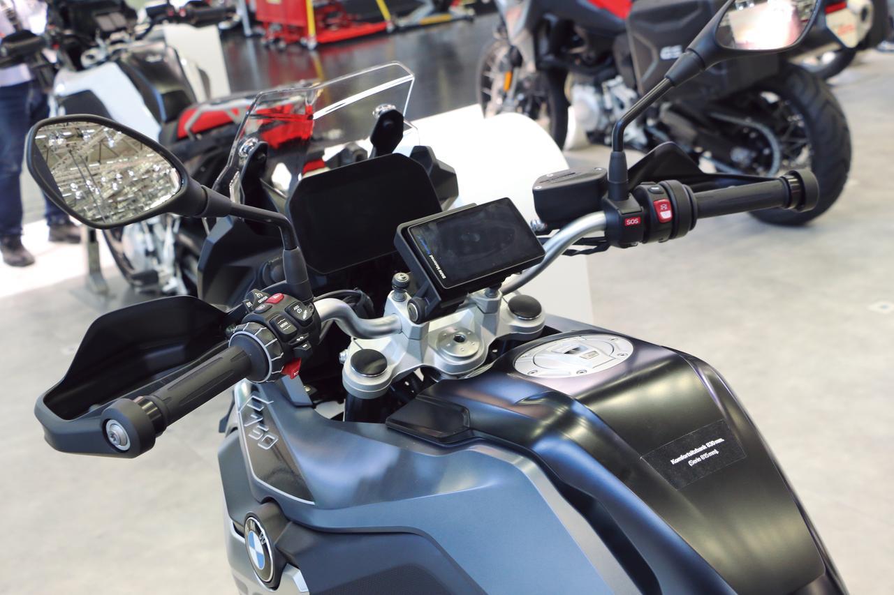 画像2: オールラウンドなミドルGS、新世代モデルに進化! 『BMW F750GS』
