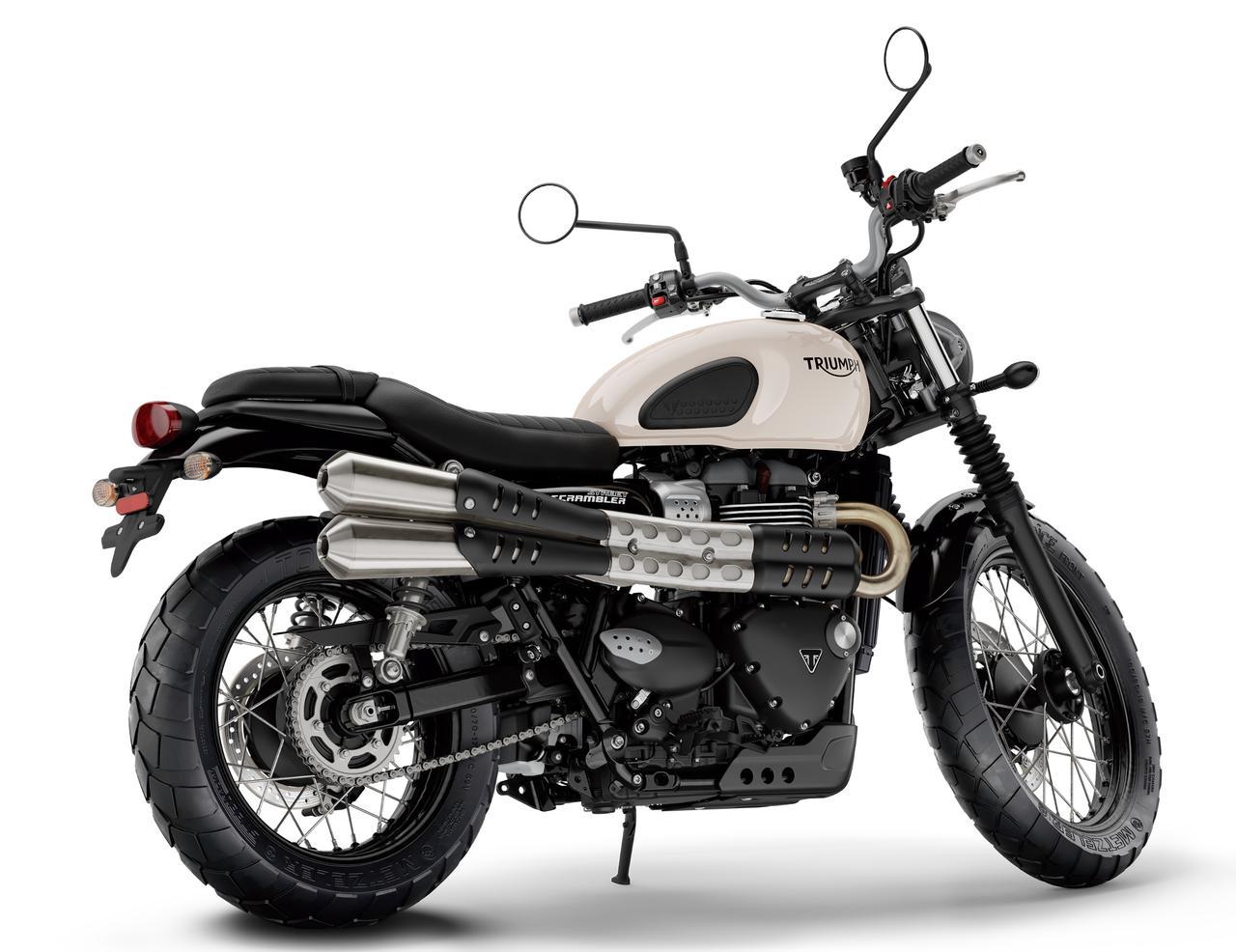 Images : 3番目の画像 - 「古典的で新しい?? 力強さを増して登場『TRIUMPH STREET SCRAMBLER』!」のアルバム - webオートバイ
