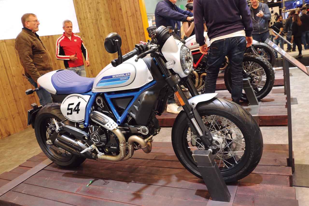 Images : 4番目の画像 - 「往年のレーシングカラーをまとい熟成の進化『DUCATI SCRAMBLER CAFE RACER』」のアルバム - webオートバイ
