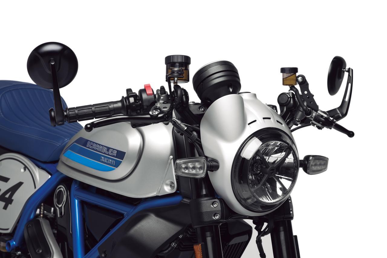 Images : 9番目の画像 - 「往年のレーシングカラーをまとい熟成の進化『DUCATI SCRAMBLER CAFE RACER』」のアルバム - webオートバイ