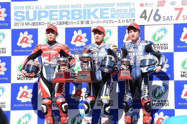 画像: <全日本ロードレース> 開幕戦レース1から横綱相撲! ~絶対王者完勝! 高橋及ばず~