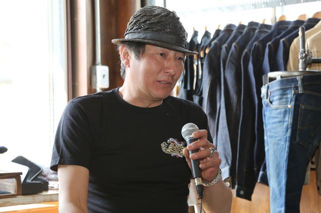 画像: KEN'S FACTORY代表の永井健次氏も発表会場に登場。