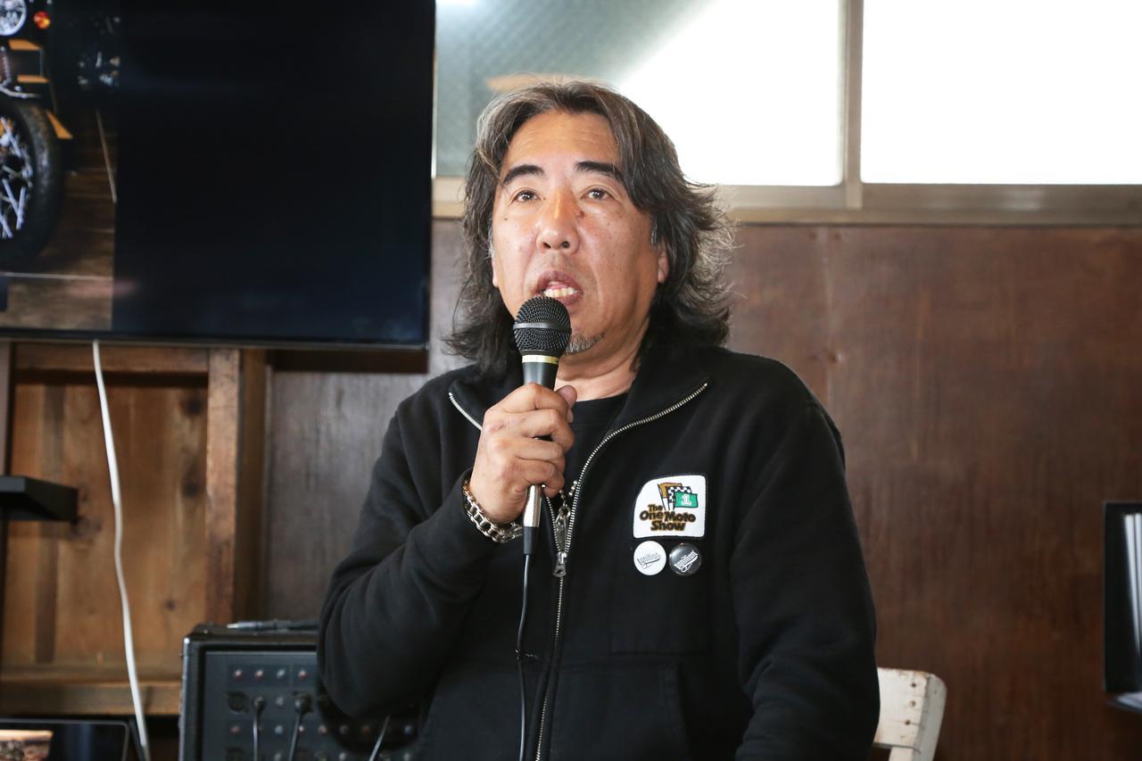 画像: アイアンハートおよび「イグニッション」ブランドの責任者を務める原木真一氏。