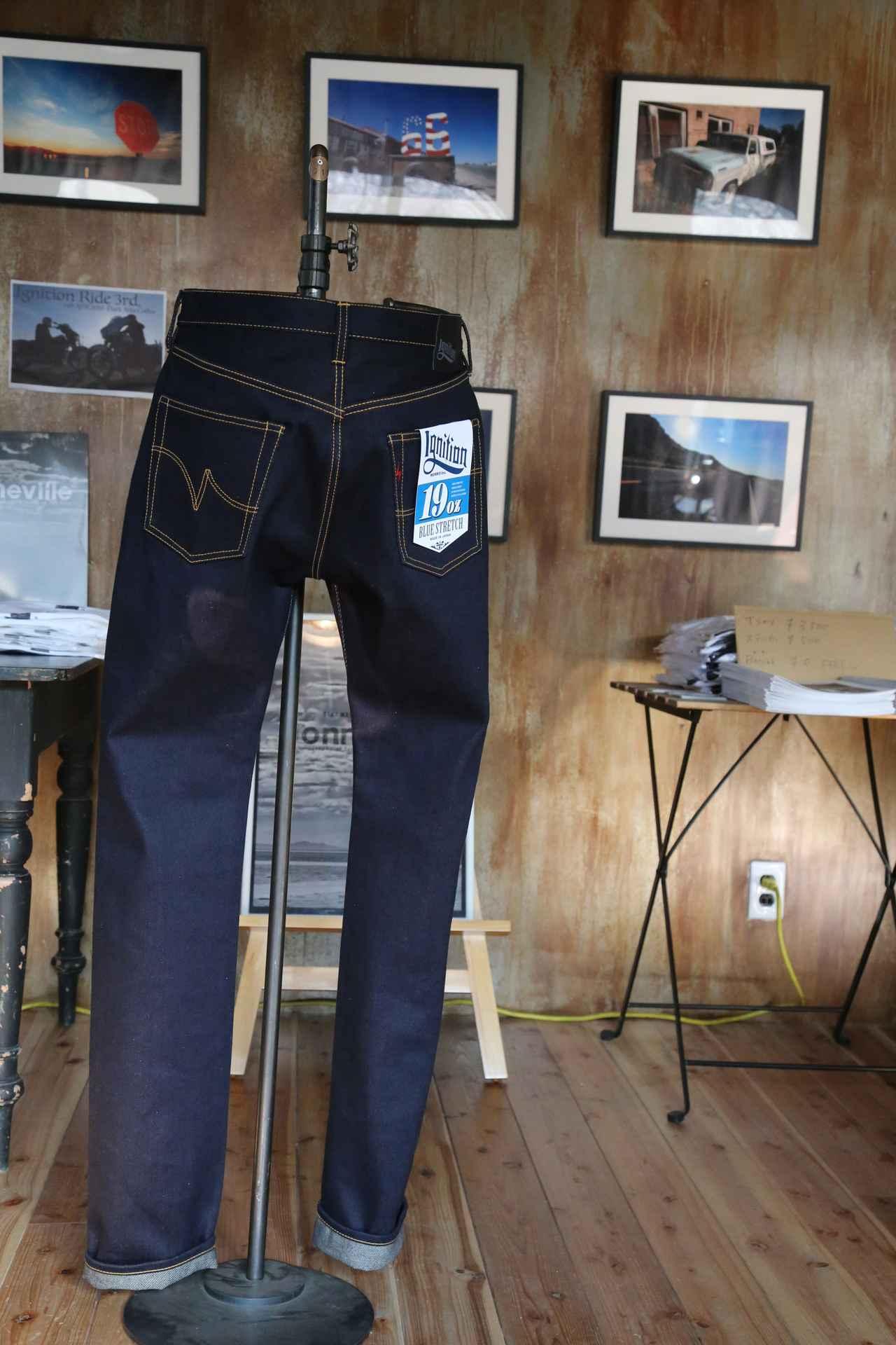 画像2: 今後注目の新ブランド「Ignition」が製品を国内初お披露目! 19ozストレッチデニムという革命的な素材を生み出し、まずは米国で展開!