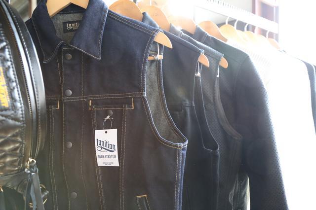 画像: デニムジャケットはカットオフも発売予定。