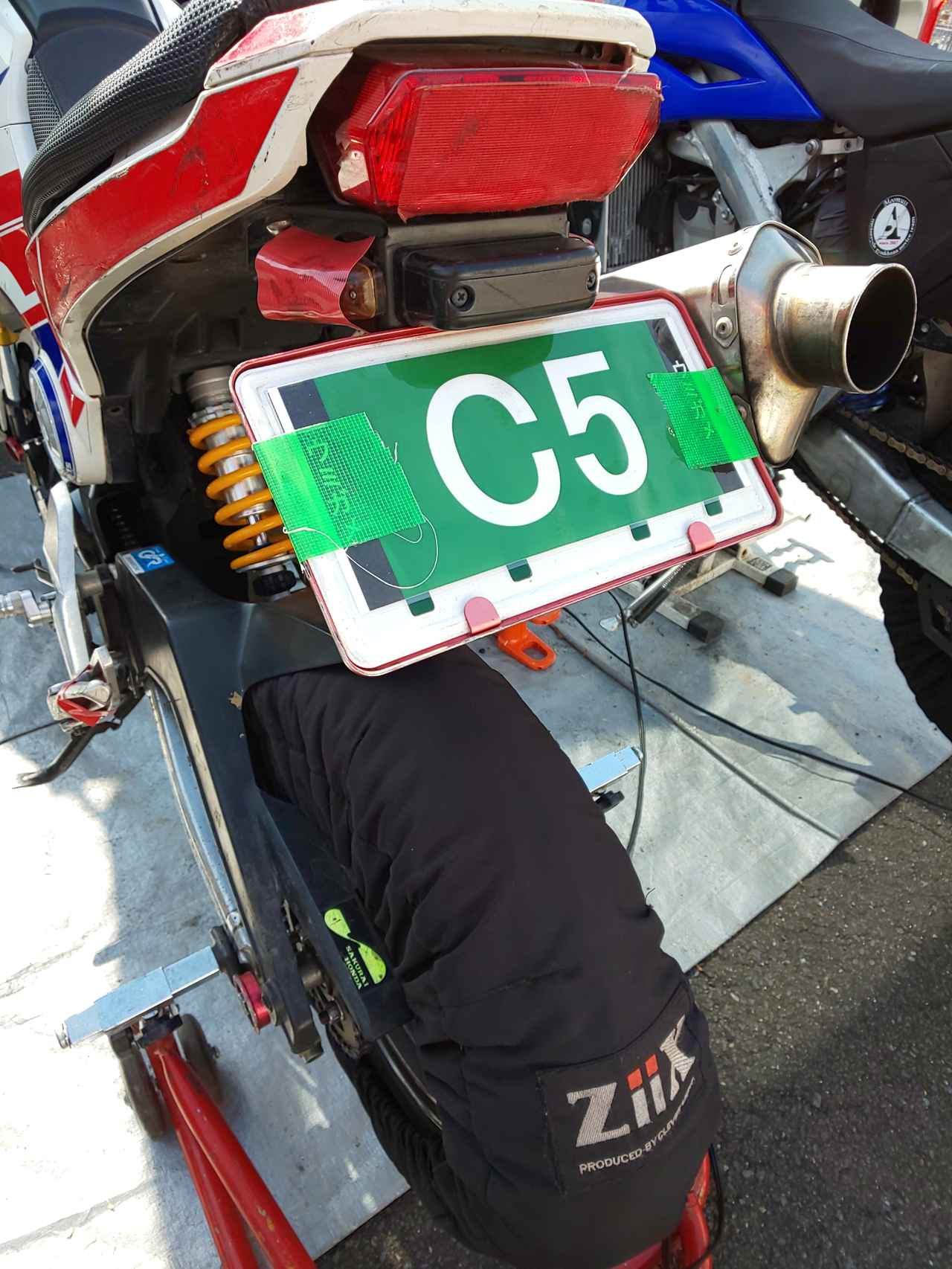Images : 17番目の画像 - ジムカーナの練習風景 - webオートバイ