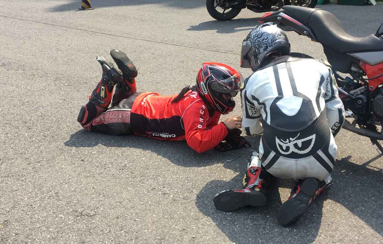 Images : 11番目の画像 - ジムカーナの練習風景 - webオートバイ