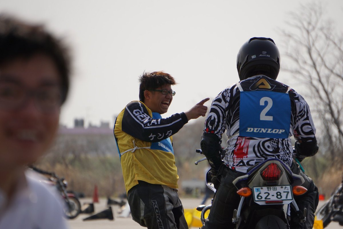 Images : 5番目の画像 - ジムカーナの練習風景 - webオートバイ