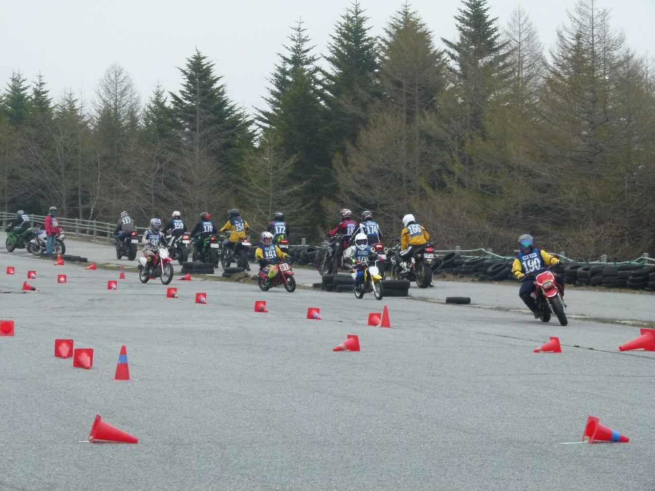 Images : 28番目の画像 - ジムカーナの練習風景 - webオートバイ