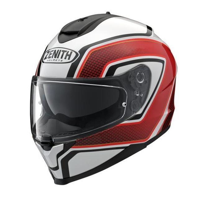画像5: インナーサンバイザーを搭載したZENITHの新型フルフェイスヘルメット「YF-9」が4月下旬に発売!