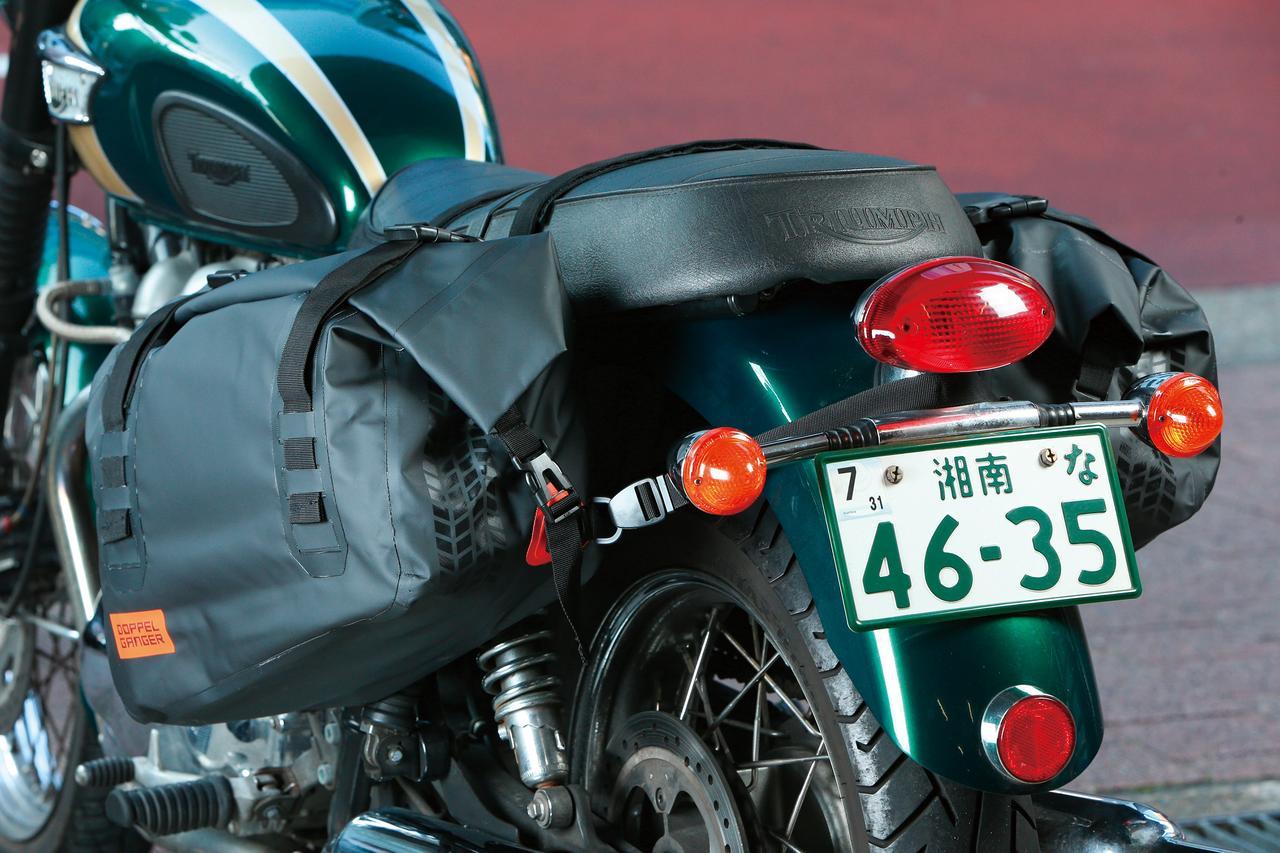 Images : 2番目の画像 - 「ツーリングキャンパー必見!『DOPPELGANGER ターポリンサイドバッグ DBT393-BK』#GEARS TEST」のアルバム - webオートバイ