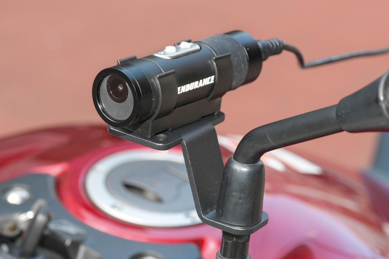 Images : 1番目の画像 - 「Wifi機能が便利な2輪向きドライブレコーダー『ENDURANCE マルチドライブレコーダー』#GEARS TEST」のアルバム - webオートバイ
