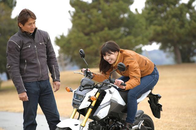 画像1: 初めてグロムに乗ったのはスポーツランドSUGOのミニバイクレースでしたね (伊藤)