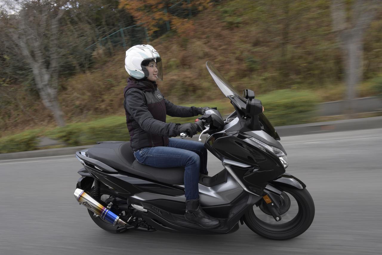 """Images : 6番目の画像 - 「""""ワイバン"""" 初の250スクーター用マフラーはHONDAフォルツァ用!」のアルバム - webオートバイ"""