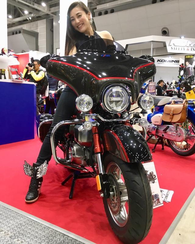 画像2: 福山理子の「いまさらモーターサイクルショー2019」用品ブースを中心に気になったモノ&コトをピックアップ!