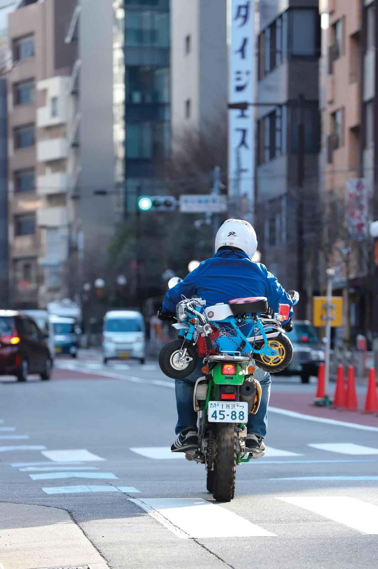 Images : 6番目の画像 - 「世界最小のキットバイク仔猿で走ろう‼ 試乗編「仔猿遊び・その3(全3回)」」のアルバム - webオートバイ