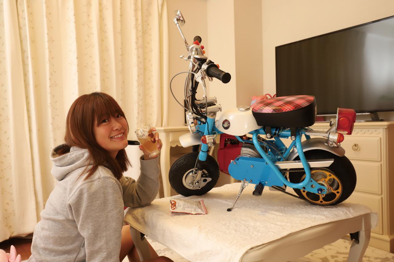 画像3: 世界最小のキットバイク仔猿完成!