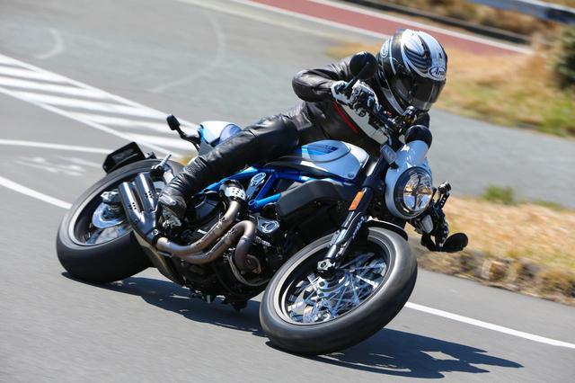 画像: イメージを一新したドゥカティスクランブラー「Cafe Racer」は、乗り心地も格段にアップ! 宮崎敬一郎氏のファーストインプレッションをお届けします! - webオートバイ