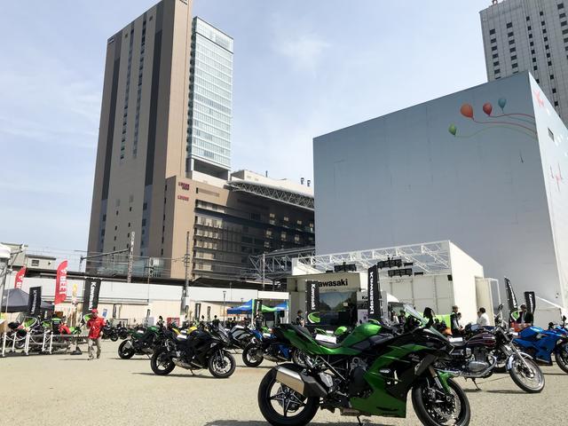 画像: カワサキ車全機種の展示に加え、アパレル&グッズも展示・販売!
