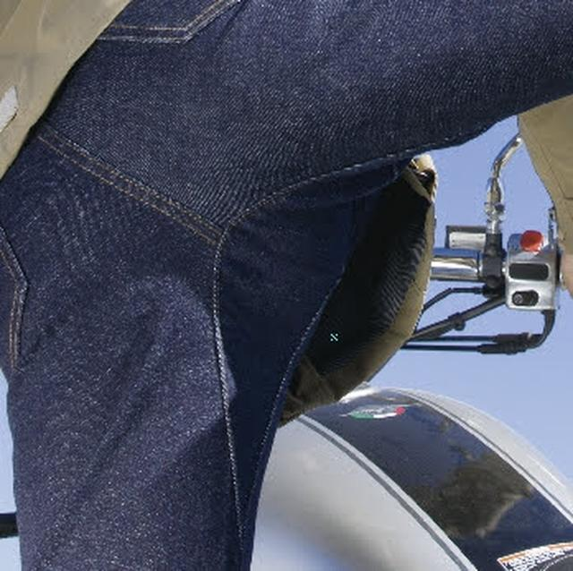 画像2: 全天候に対応したジーンズ!? POWERAGEから「ウォータープルーフ ライダースパンツ」が4月下旬に登場!