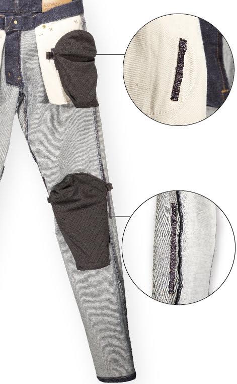 画像4: 全天候に対応したジーンズ!? POWERAGEから「ウォータープルーフ ライダースパンツ」が4月下旬に登場!