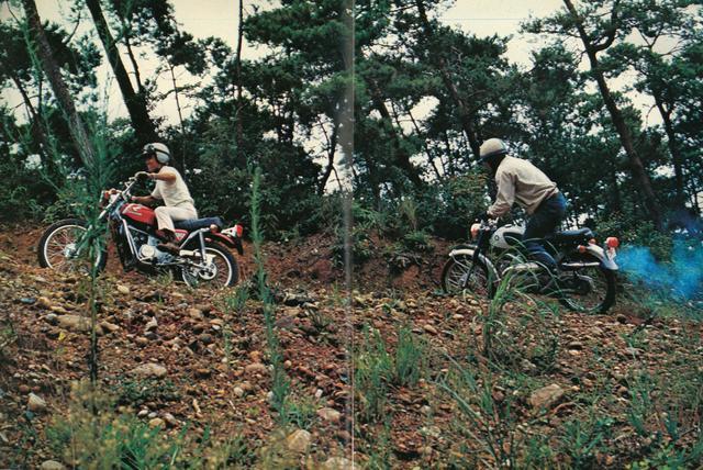 画像8: 特別企画『ブラボー!90トレール』砂をかみ、草原に乱舞する90トレールの世界(1969年/11月号)