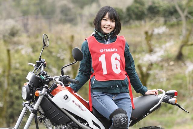 画像1: 美環×YAMAHA Tricker【オートバイ女子部のフォトアルバム】