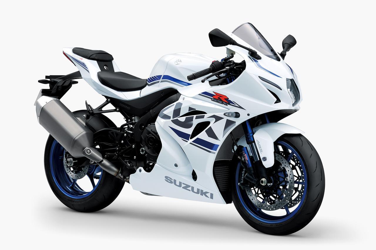 画像12: スズキ「GSX-R1000R ABS」がマイナーチェンジ! カラバリとともに、タイヤの変更、ETC2.0車載器も標準装備!