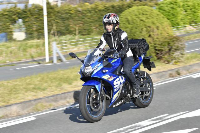 画像: 待ちに待った春、早くもメッシュジャケットで静岡県へ
