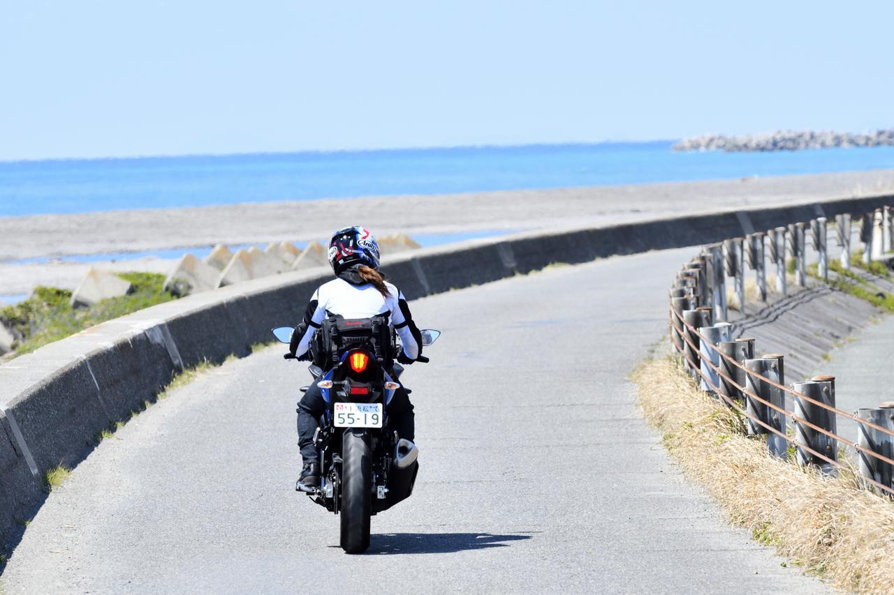 画像6: 磐田市「掛塚灯台」周辺でキラキラの太平洋!