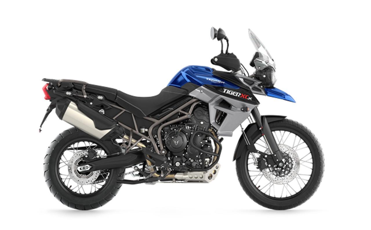 画像: TIGER 800 XCX 税込167万3,000円/排気量800cc