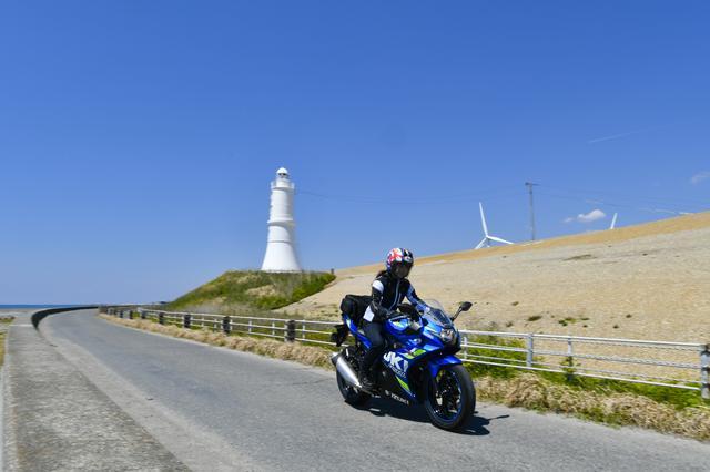 画像1: 磐田市「掛塚灯台」周辺でキラキラの太平洋!