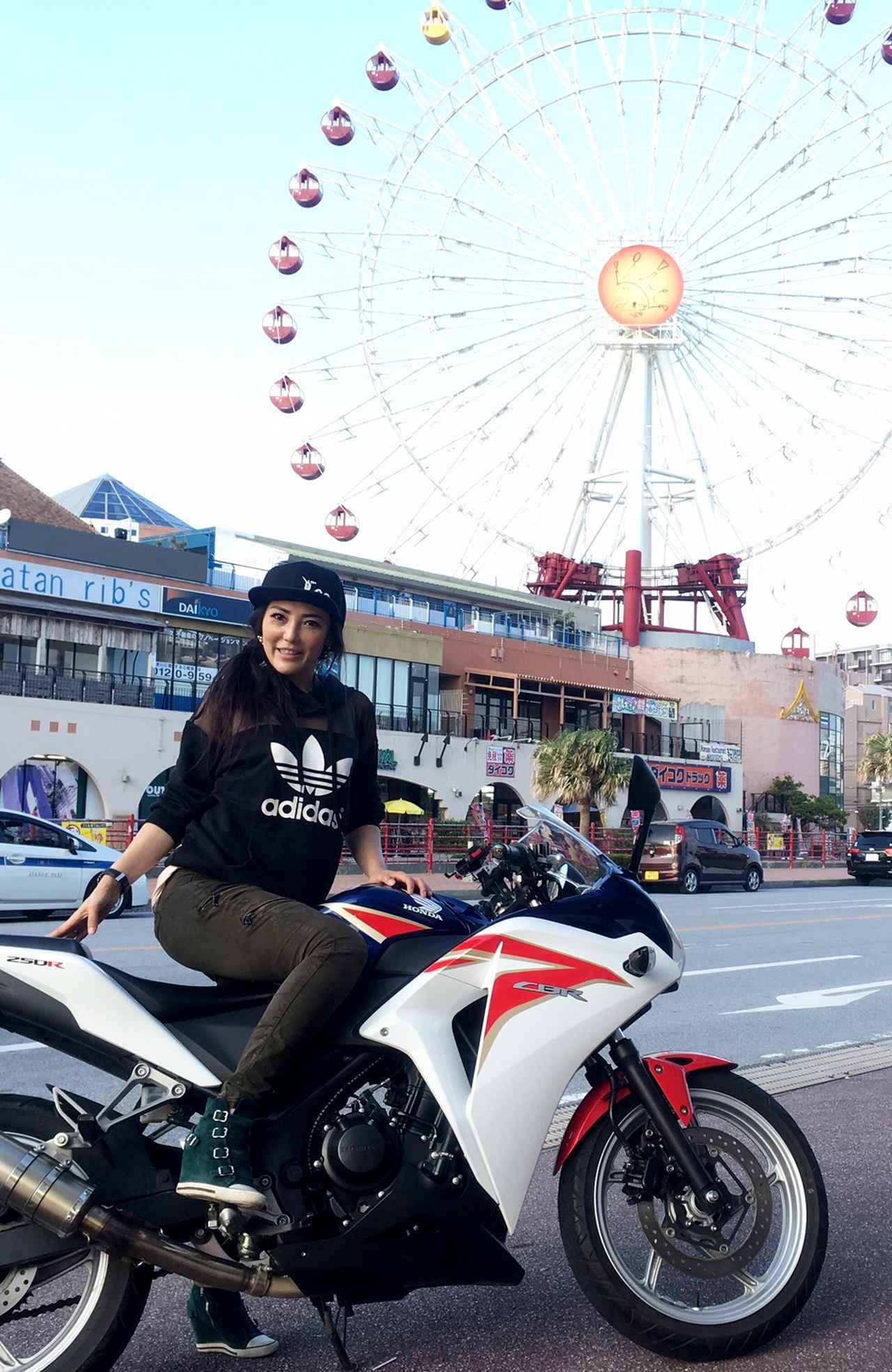 画像11: ということで、【福山理子調べ】沖縄で1番お安いレンタルバイク屋さんにGO!!