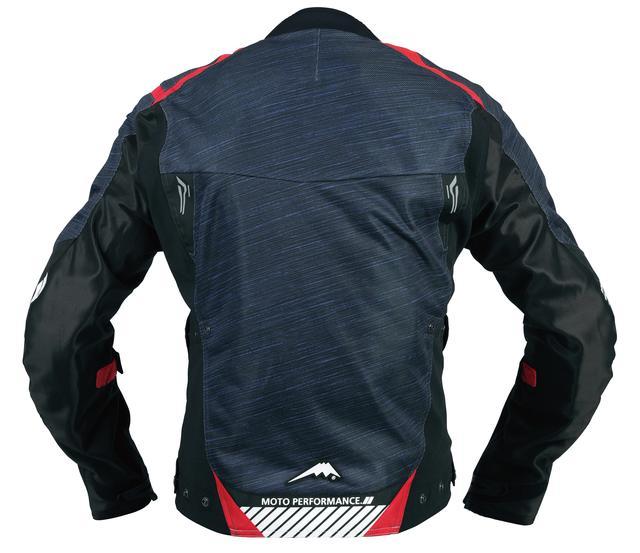 画像6: 「スラブ柄」により高級感をアップ! クシタニの新作メッシュジャケット