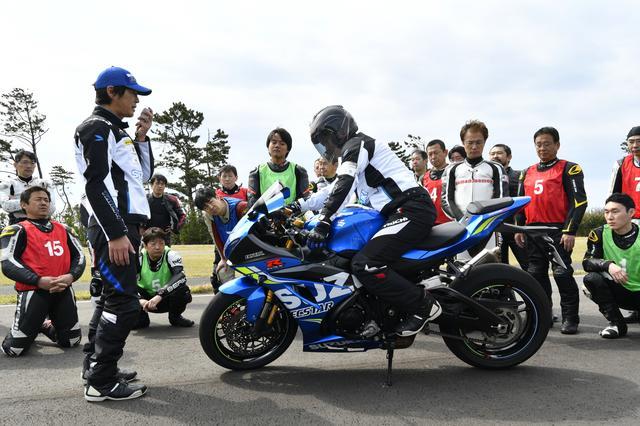 画像: バイクの正しい乗り方を教わって~ (これがかなり勉強になりました)
