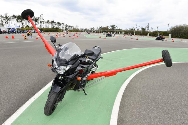 画像: バイクはバンディット1250Sです!