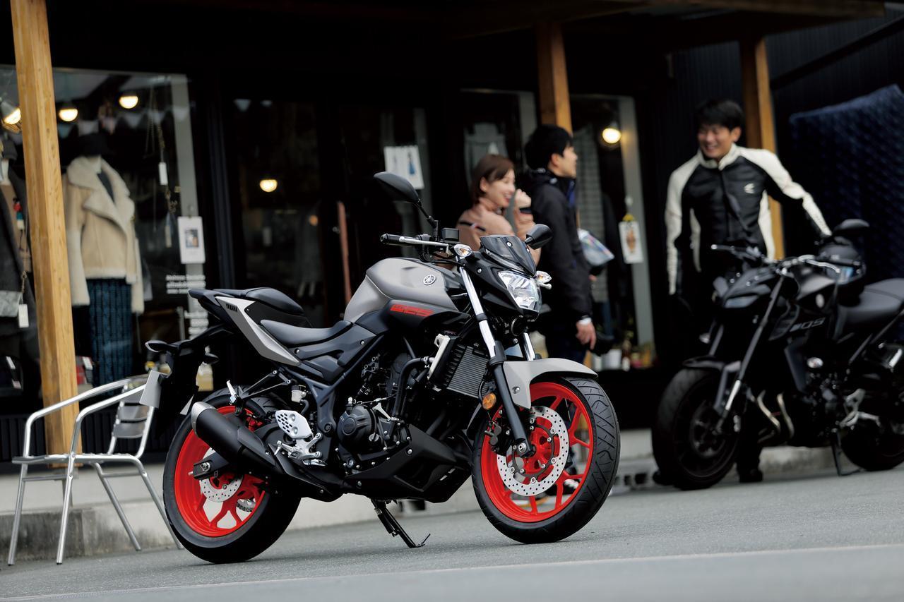 画像: 「MT-03」「MT-25」にも2019年カラーが登場、兄弟車「MT-07 ABS」と揃えた3色で展開! - webオートバイ