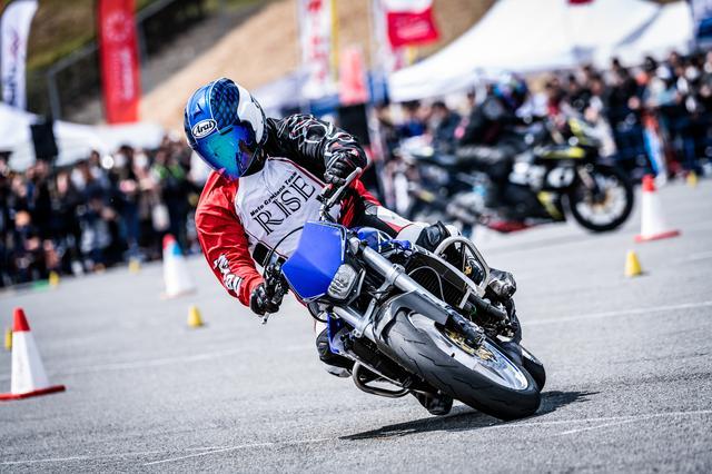 画像: ナップスクラス2位・和田貴宏選手&TZR250R