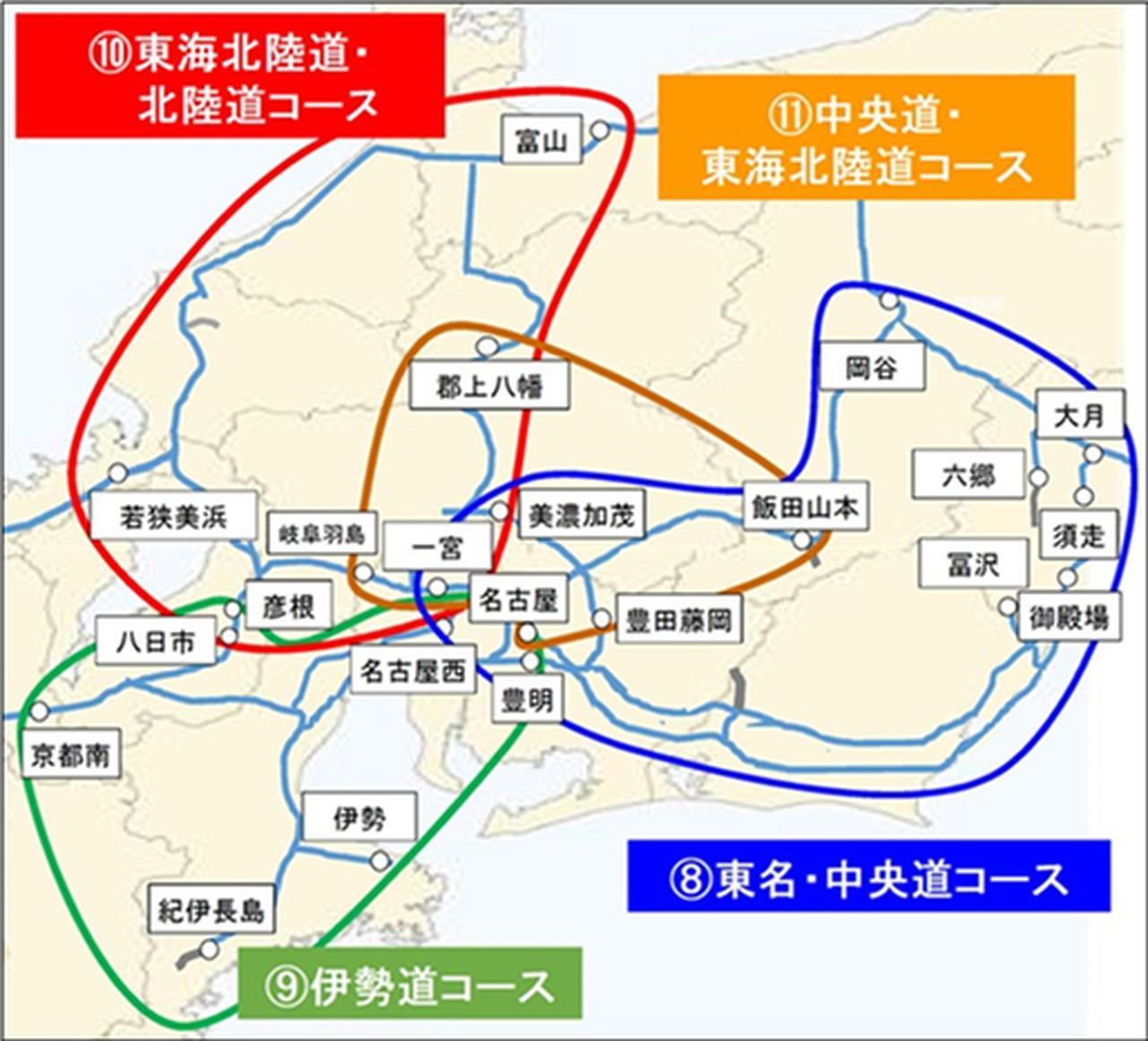 画像: 中京圏 4コース