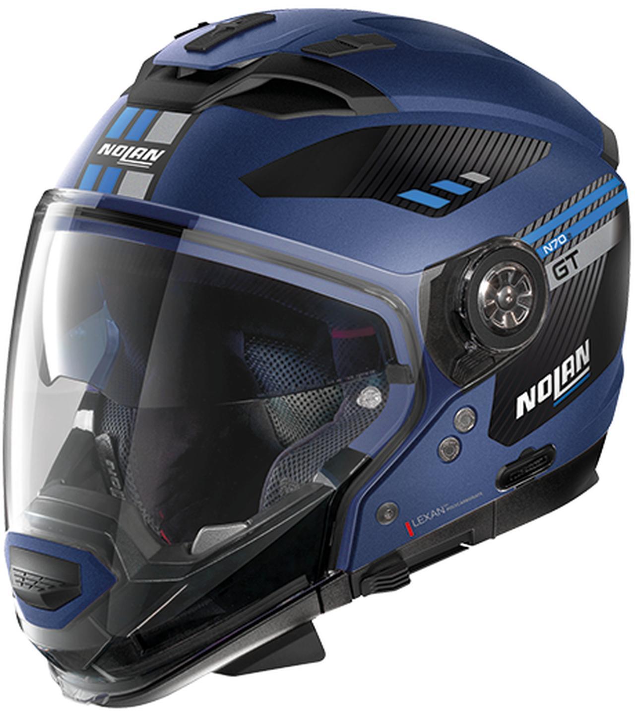 画像5: ジェットタイプにもモトクロススタイルにも変更できるNOLANのクロスオーバーヘルメット「N70-2GT」が新登場!