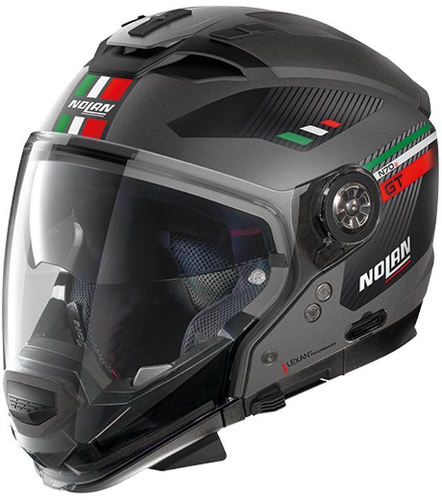 画像4: ジェットタイプにもモトクロススタイルにも変更できるNOLANのクロスオーバーヘルメット「N70-2GT」が新登場!