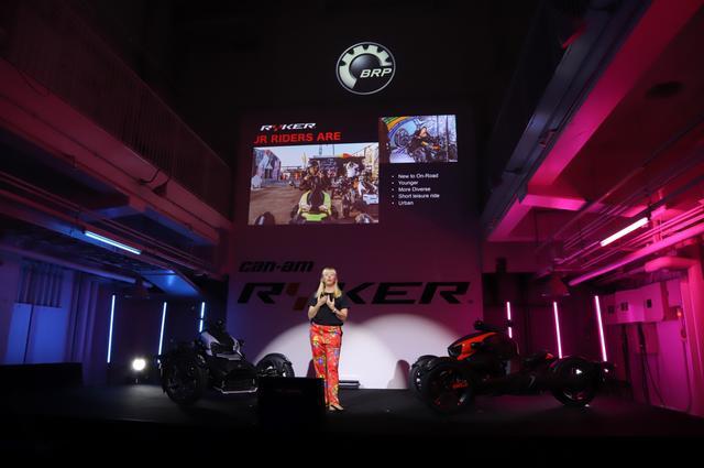 画像1: 3月29日にBRP「can-am RYKER」の発表会&試乗会に 私、梅本まどかも行ってきました!