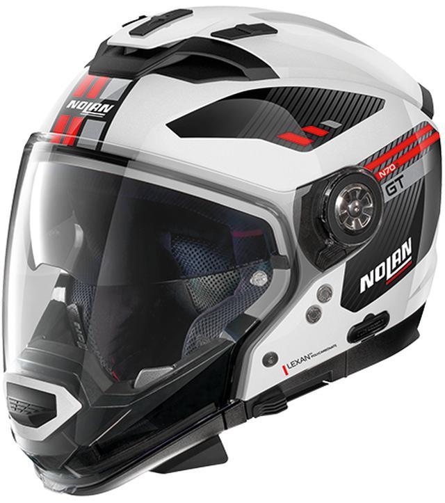 画像3: ジェットタイプにもモトクロススタイルにも変更できるNOLANのクロスオーバーヘルメット「N70-2GT」が新登場!