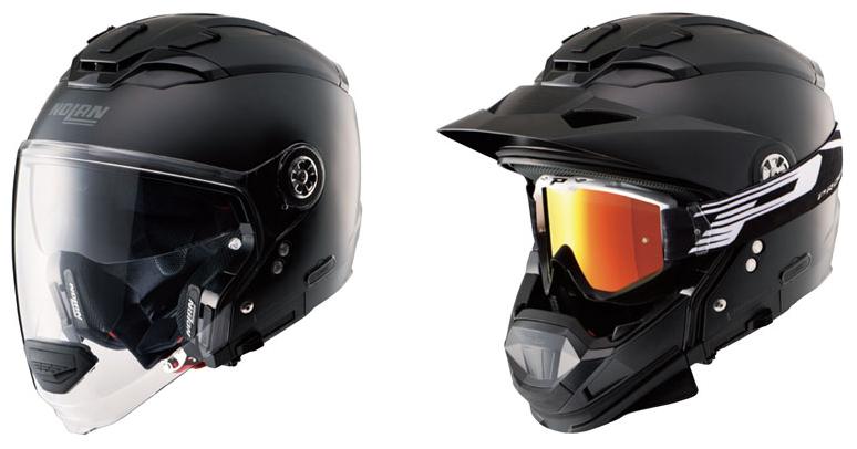 画像2: インナーサンバイザー搭載、帽体は超高強度軽量素材LEXANポリカーボネートを採用!