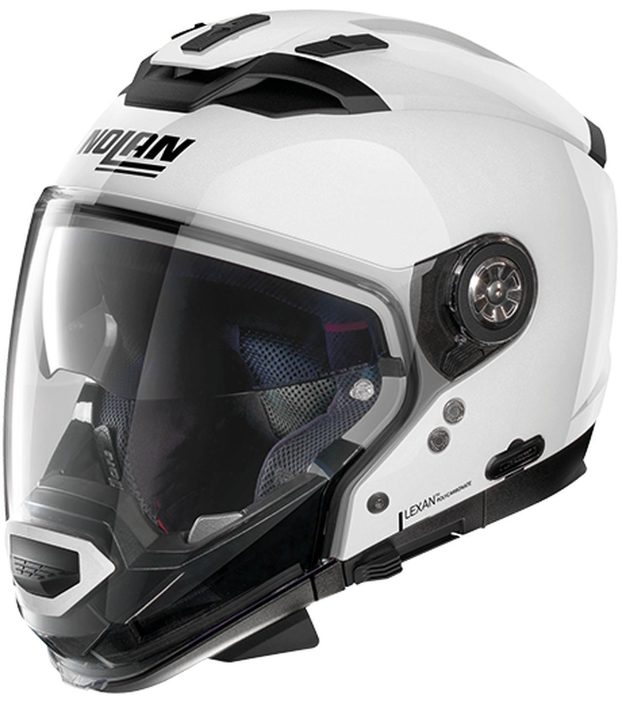 画像3: インナーサンバイザー搭載、帽体は超高強度軽量素材LEXANポリカーボネートを採用!
