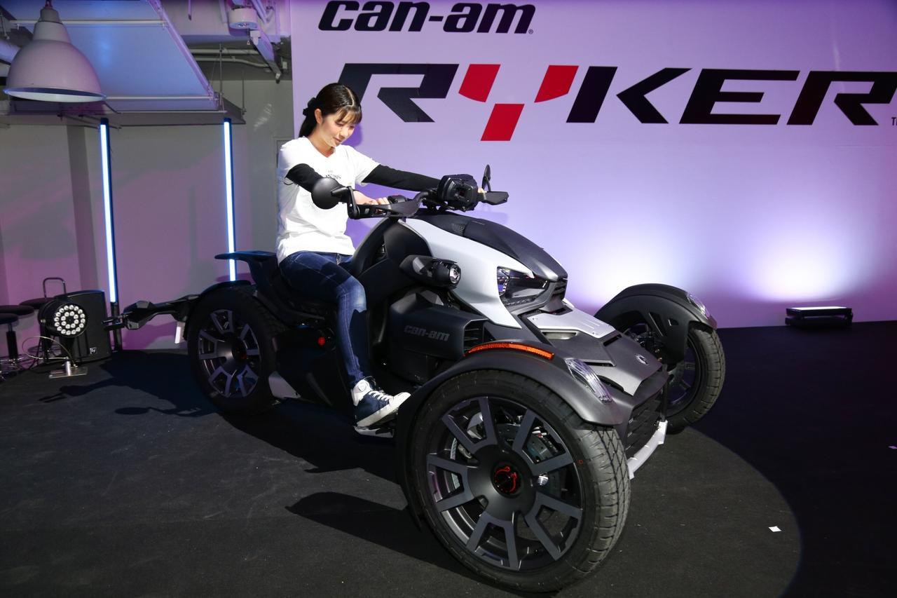 画像4: 3月29日にBRP「can-am RYKER」の発表会&試乗会に 私、梅本まどかも行ってきました!