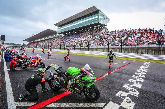 画像: ポールポジションからスタートした2018年、ヤマハ、ホンダに次ぐ3位でレースを終えたカワサキ