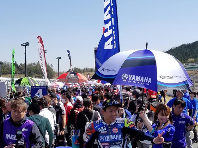 画像1: いよいよJSB1000決勝レース1スタート!
