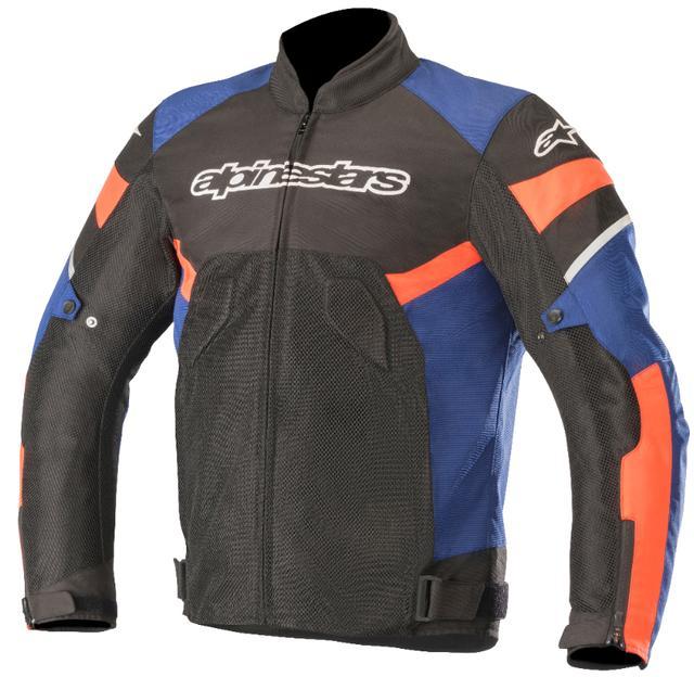 画像: 通気性の高いポリエステルメッシュを使用した夏用ジャケット。標準で背中・胸・肩・肘にCE認可のインナープロテクションが装備された安全性の高いモデルです。防水インナーポケット付き。