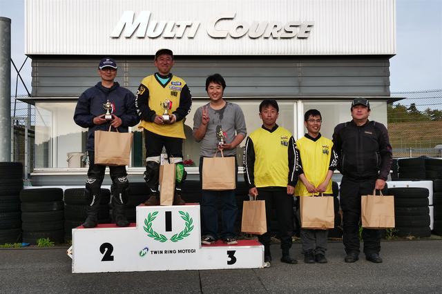 画像: 左から2位・福井雅樹選手、1位・前園泰成選手、3位・吉原 翼選手、4位・空岡誠実選手、5位・渡邊広貴選手、6位・伊藤雅敏選手